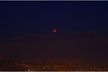 Blood Moon over Berkeley