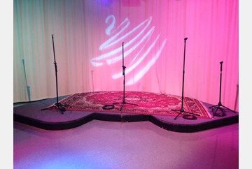 Center Stage ready for Bezerkeley Live!