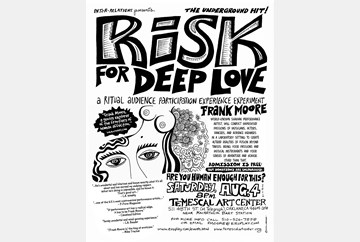 Risk for Deep Love 8/4/12 poster art by LaBash