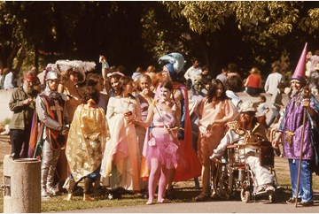 Fantasy Costume Parade, Berkeley 1977. Photo by Ken Jennings