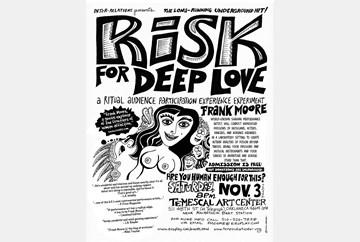 Risk for Deep Love Nov 2012, poster art by LaBash