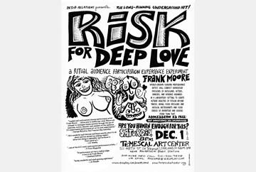 Risk for Deep Love, Dec 2012, poster art by LaBash