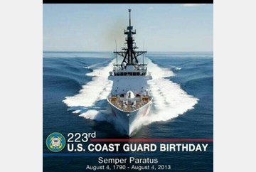 Happy Birthday USCG