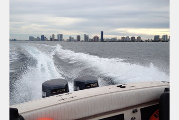 Off the coast of Miami