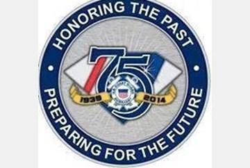 AUX 75th Anniversary Emblem