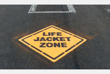 Life Jacket Zone stencil kit from NSBC