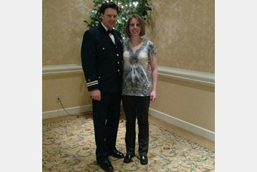 Flotilla 5-10 VC Mike O'Neal and his Wife