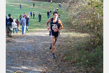 Kurtis Steck of Lafayette on his way to victory in the Region I Championship.