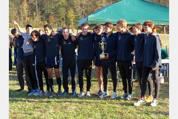 Lafayette Boys 2012 Region I Cross Country Champions