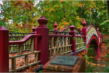 Crim Dell Bridge at William & Mary
