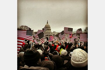 Inaugural Ceremonies from the National Mall -DML