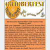 Oktoberfest, Octoberfest, Trunk or Treat