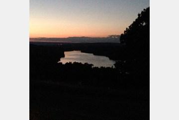 Sunset over Blue Marsh