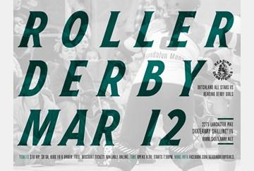 Reading Derby Girls March 12