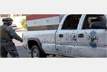 iraq-3 policemen killed in attch in baghdad today